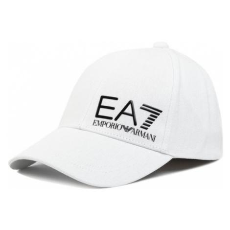 EA7 Emporio Armani Czapka z daszkiem 275936 0P010 00110 Biały
