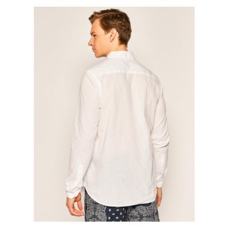 Calvin Klein Koszula K10K105297 Biały Regular Fit