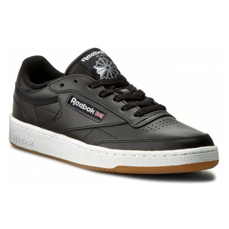 Buty Reebok - Club C 85 AR0458 Black/White/Gum