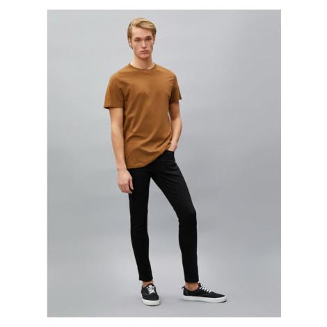 Koton Men's Black Jean Trousers