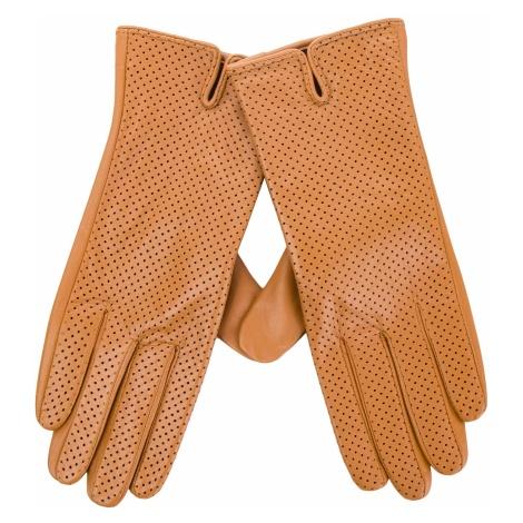 Rękawiczki Damskie WITTCHEN - 45-6-520-LB Brązowy