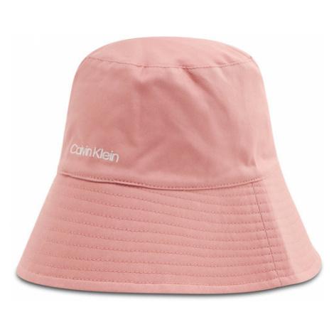 Calvin Klein Kapelusz Oversized Rev Bucket Hat K60K607982 Różowy