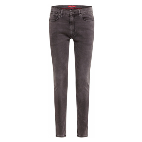 HUGO Jeansy 'Hugo 734' szary denim Hugo Boss