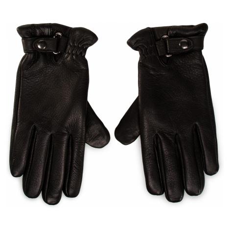 Rękawiczki Męskie GINO ROSSI - AR0183-000-DR00-9900-T Czarny