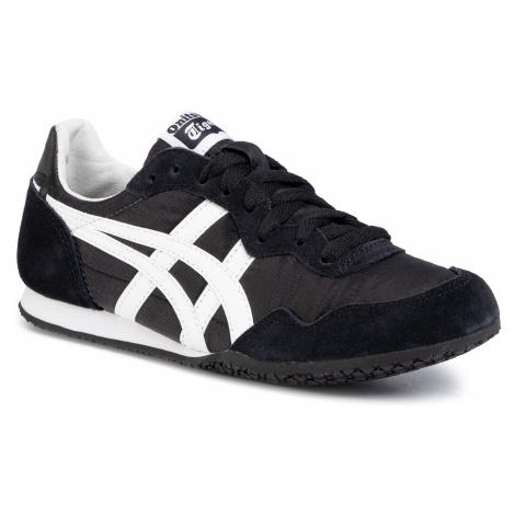 Sneakersy ONITSUKA TIGER - Serrano D109L Black/White 9001