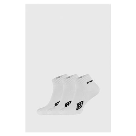 Trzypak białych kostkówek Umbro