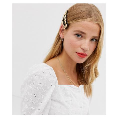 Ashiana pearl large hair clip