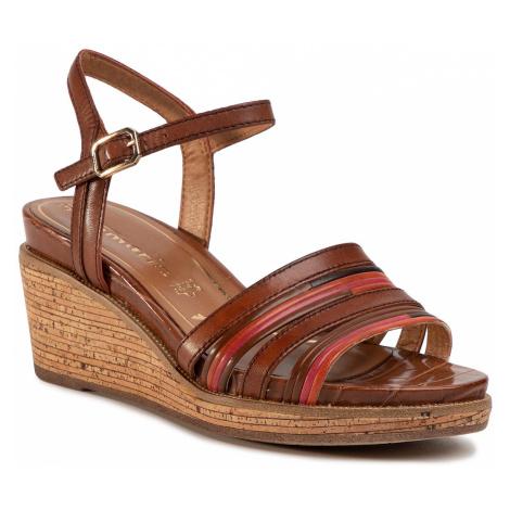 Sandały TAMARIS - 1-28060-34 Nut Comb 441