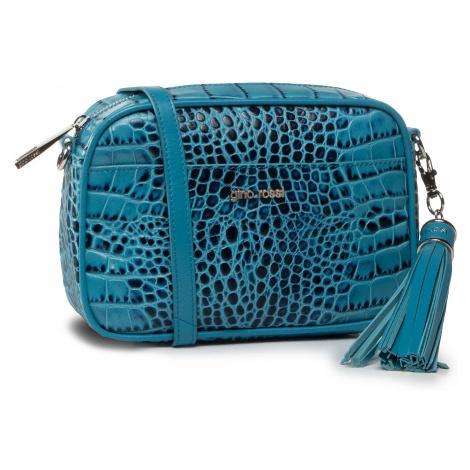 Torebka GINO ROSSI - Croco 0004-LIB Blue