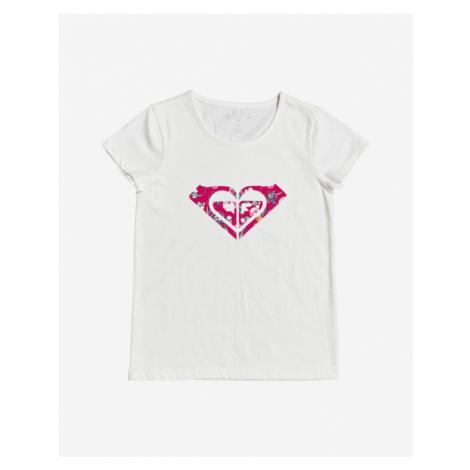 Roxy Endless Music Koszulka dziecięce Biały
