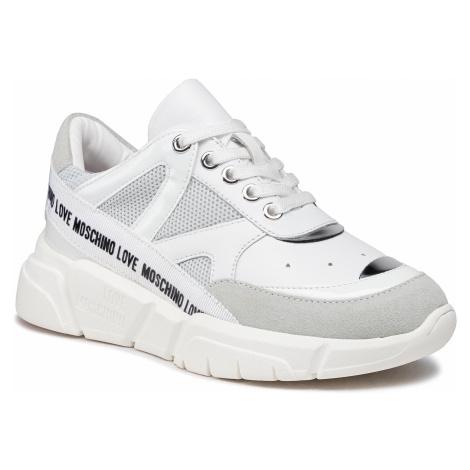Sneakersy LOVE MOSCHINO - JA15323G1CIU101A Perla/Mix