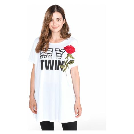 TWINSET Koszulka Biały