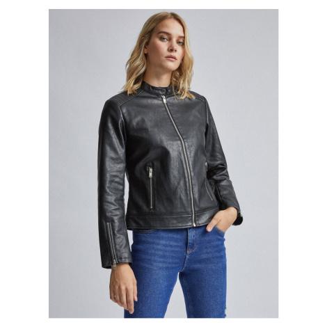 Dorothy Perkins Black Leather Jacket