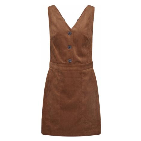 VILA Sukienka 'JOSY' brązowy