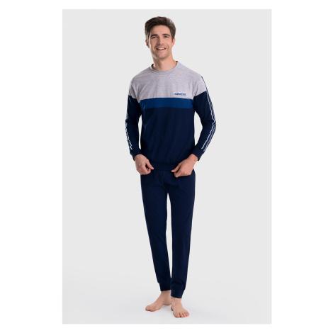 Szare męskie piżamy