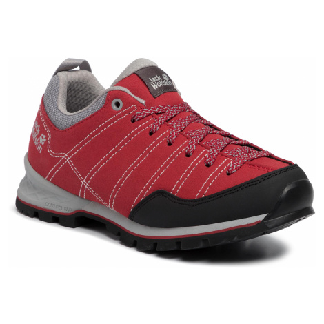 Trekkingi JACK WOLFSKIN - Scrambler Low W 4036671 Red/Light Grey