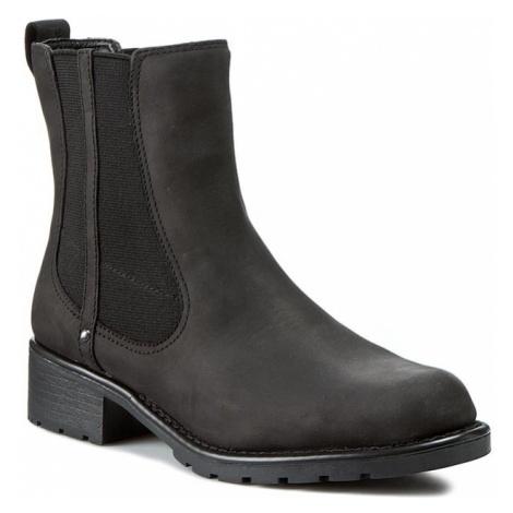 Sztyblety CLARKS - Orinoco Club 203409184 Black Leather