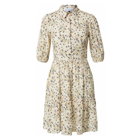 Closet London Sukienka 'Closet Gathered Shirt Dress' beżowy / mieszane kolory