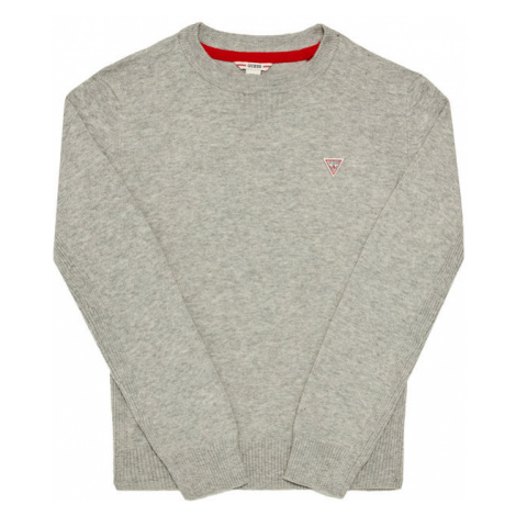Guess Sweter L0YR03 Z1DC0 Szary Regular Fit