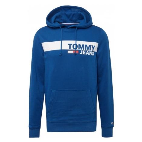 Tommy Jeans Bluzka sportowa 'Essential Graphic' królewski błękit / biały Tommy Hilfiger