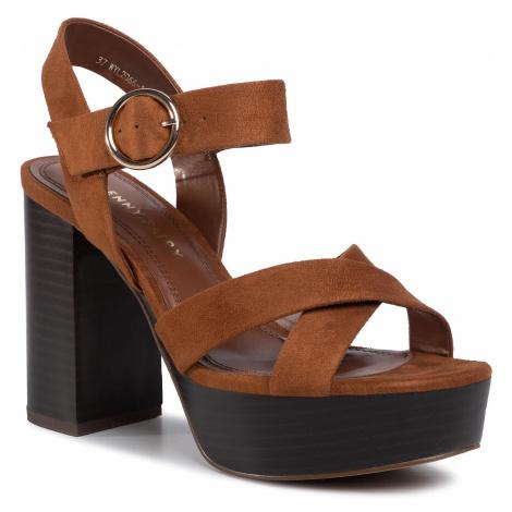Sandały JENNY FAIRY - WYL2066-1 Brown