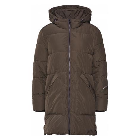 TOM TAILOR Płaszcz zimowy khaki