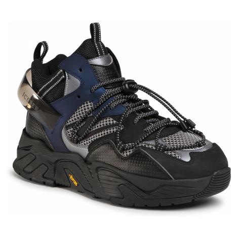 Sneakersy ICEBERG - Kakkoi 20IIU1352A Nero/Fucile