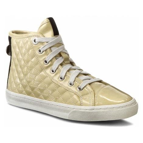 Sneakersy GEOX - D N. Club A D4258A 000HI C2004 Jasny Żółty