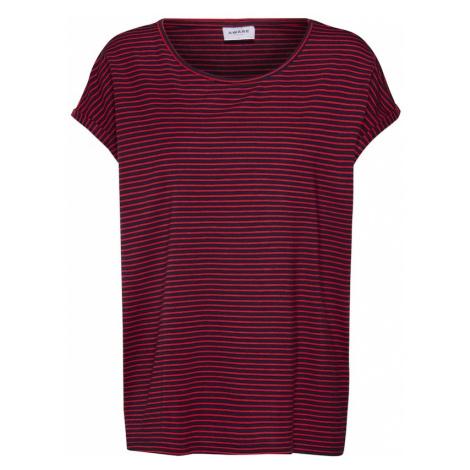 VERO MODA Koszulka czerwony / czarny
