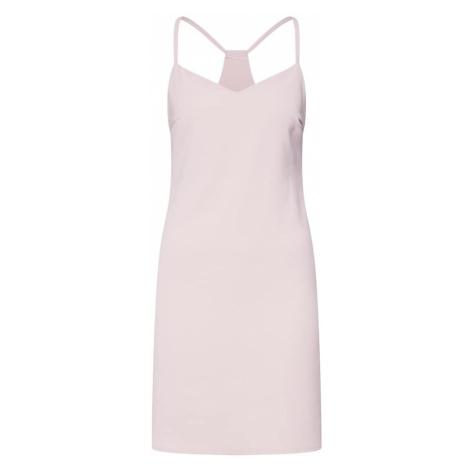 Boohoo Letnia sukienka różowy pudrowy