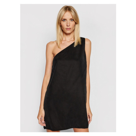 Calvin Klein Jeans Sukienka codzienna J20J215675 Czarny Regular Fit