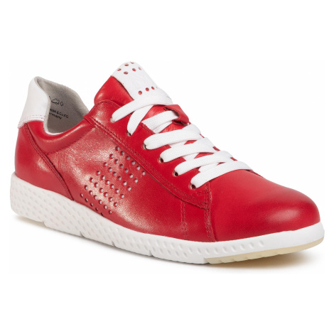 Sneakersy MARCO TOZZI - 2-23766-24 Red/White 531