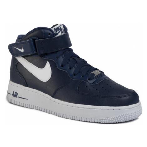 Nike Buty Air Force 1 Mid '07 An20 CK4370 400 Granatowy