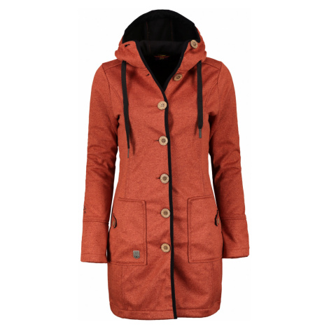 Women's coat Woox Woolshell Ladies' Button