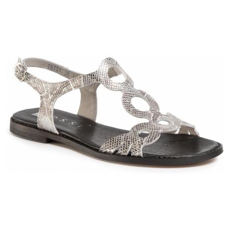 Sandały NESSI - 20709 Srebro