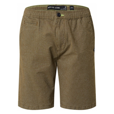 INDICODE JEANS Spodnie 'Granby' oliwkowy