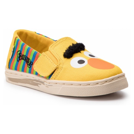 Tenisówki TOMS - Luca 10013641 Yellow/Orange Bert