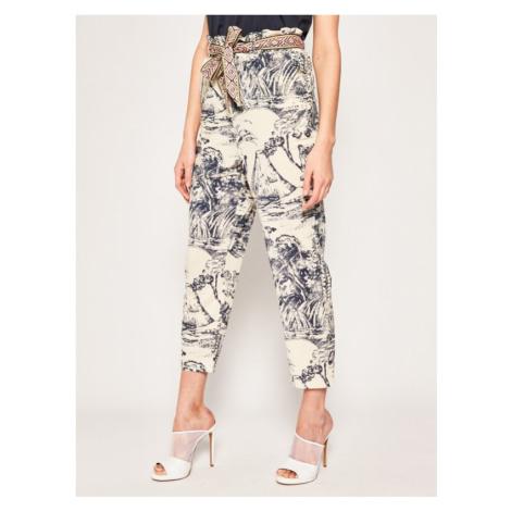 Spodnie materiałowe Desigual