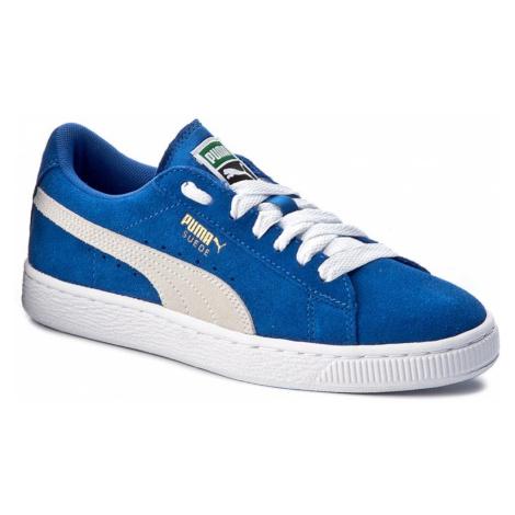 Sneakersy PUMA - Suede Jr 355110 02 Snorkel Blue/White