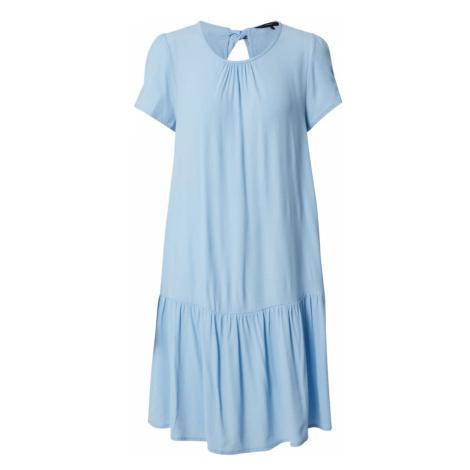 VERO MODA Sukienka 'VMKALINKA SS SHORT DRESS WVN' niebieski / niebieski denim