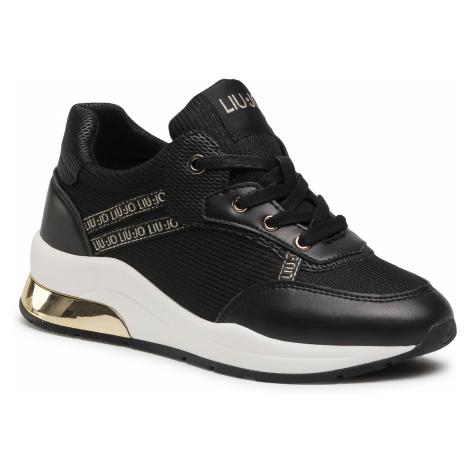 Sneakersy LIU JO - Karlie 8 4A1731 EX083 Black 22222