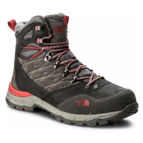 Trekkingi THE NORTH FACE - Hedgehog Trek Gtx GORE-TEX T92UX2QDK Dark Gull Grey/Melon Red