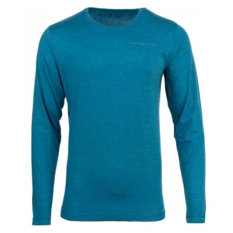 ALPINE PRO GATLIN niebieski L - Koszulka męska