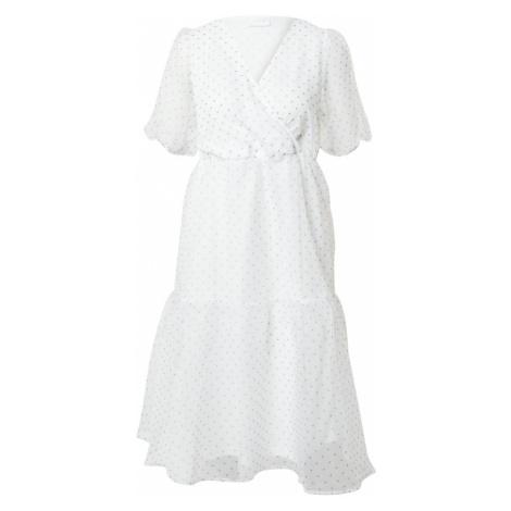VILA Sukienka 'Pura' czarny / offwhite