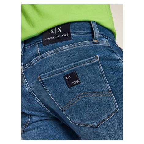 Armani Exchange Jeansy Slim Fit 6HZJ13 Z6QMZ 1500 Niebieski Slim Fit