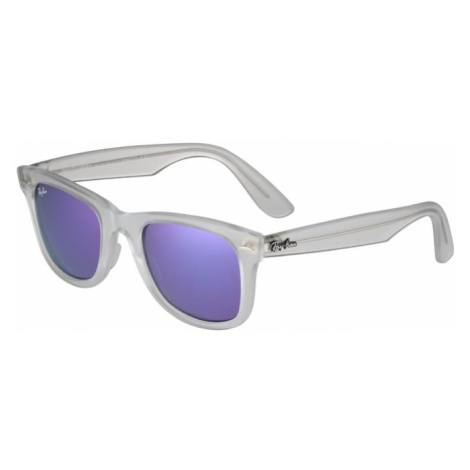 Ray-Ban Okulary przeciwsłoneczne 'Wayfarer' fioletowy / przezroczysty