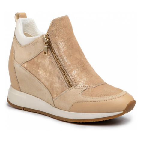 Geox Sneakersy D Nydame E D020QE 07722 C5004 Beżowy