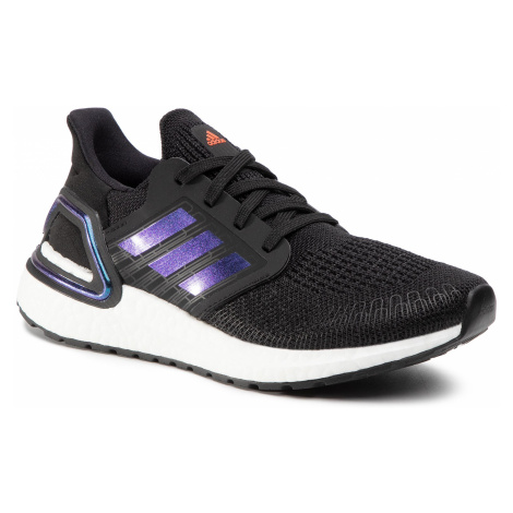 Buty adidas - Ultraboost 20 J EG4861 Core Black/Boost Blue Violet Met./Cloud
