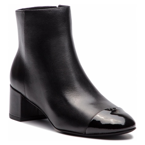 Botki TORY BURCH - Shelby 50mm Bootie 44238 Perfect Black/Perfect Black 009