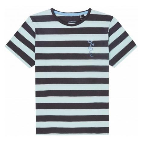 O'Neill LB STRIPED S/SLV T-SHIRT czarny 152 - Koszulka chłopięca
